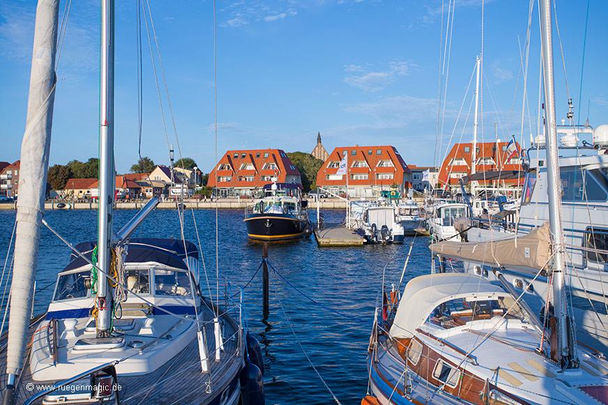 Vorstellung des ehemaligen Fischerortes Wiek auf Rügen